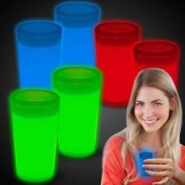 Vasos chupito luminosos