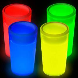 Vasos chupito luminosos