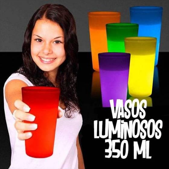 vasos fluorescentes 350ml