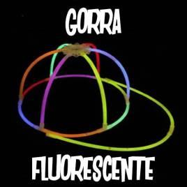 Gorra luminosa fluor