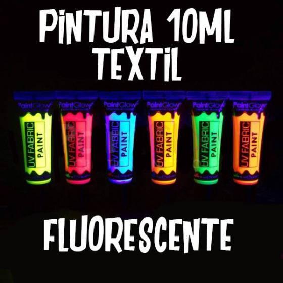 Pintura fluorescente ropa 10ml