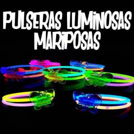 pulseras luminosas niños