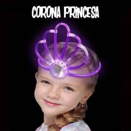 corona luminosa fluor niños