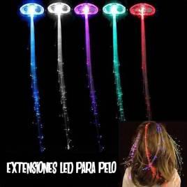 Extensiones LED pelo