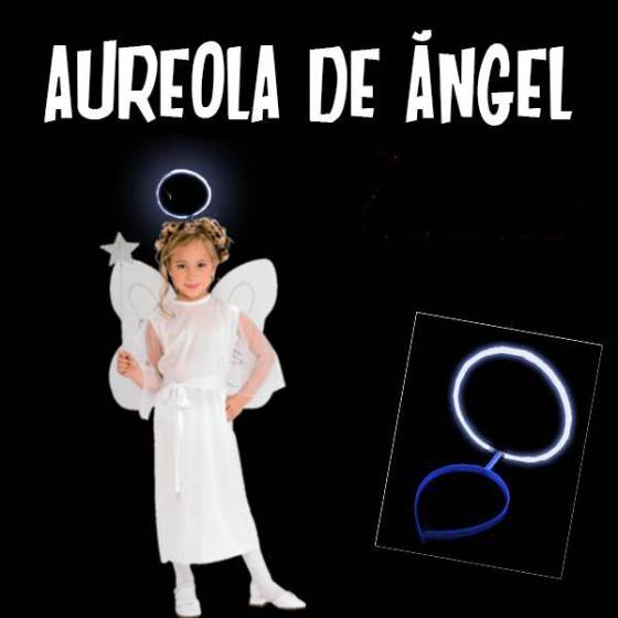 Aureola de angel fluorescente