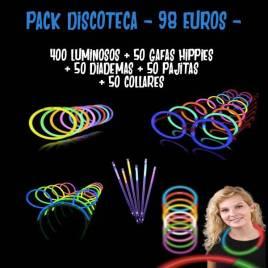 pack fluorescentes discoteca