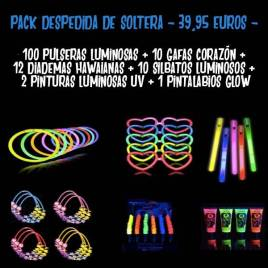 Pack despedida de solteras luminosos
