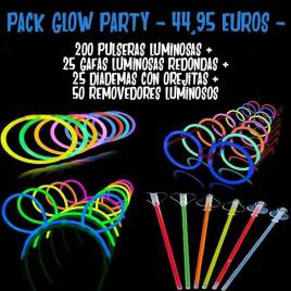 Pack glow party