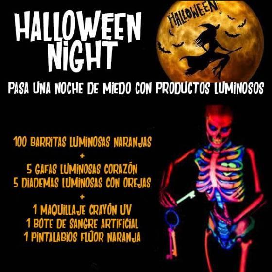 pack fiesta luminosa halloween