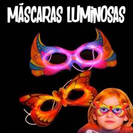 Máscaras luminosas de animales