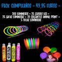 Pack Cumpleaños Luminosos