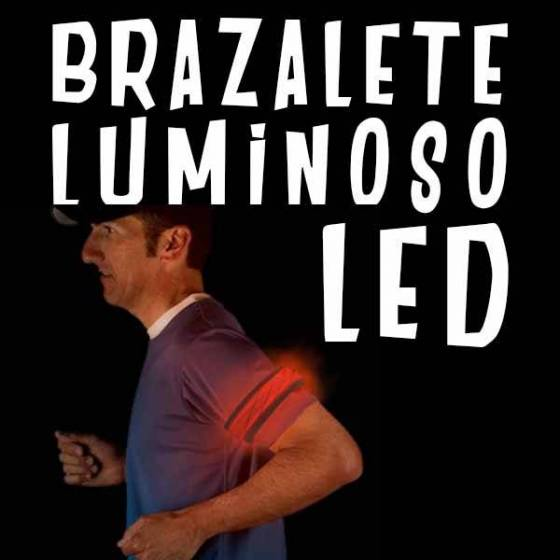 Brazalete Luminoso LED Deportivo