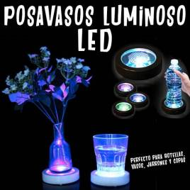 Posavasos Luminoso LED