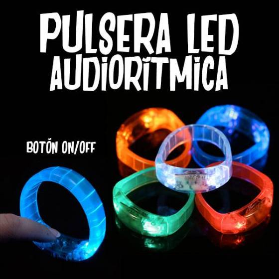 Pulsera LED Autorítimica