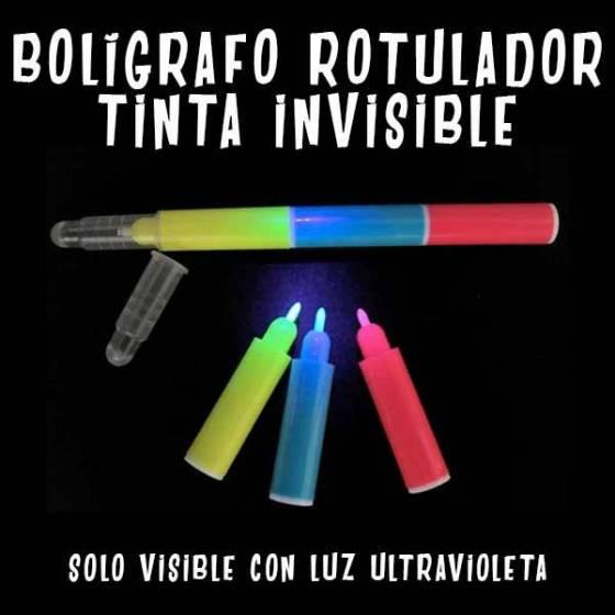 Boligrafo Rotulador Tinta Invisible