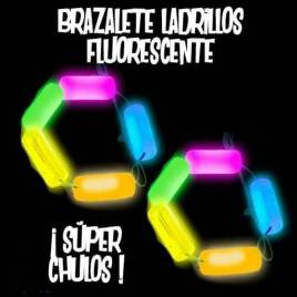 brazalete fluorescente fluor Ladrillos