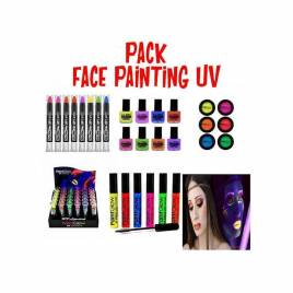 Pack maquillaje Face Painting,UV