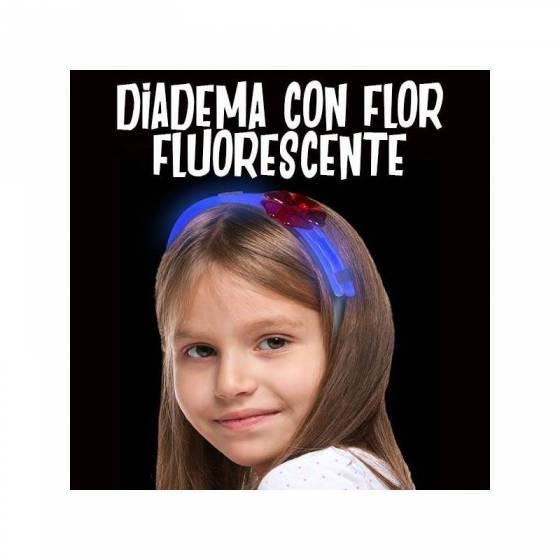 Diadema flúor para niñas