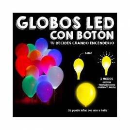 Globos LED con botón ON/OFF